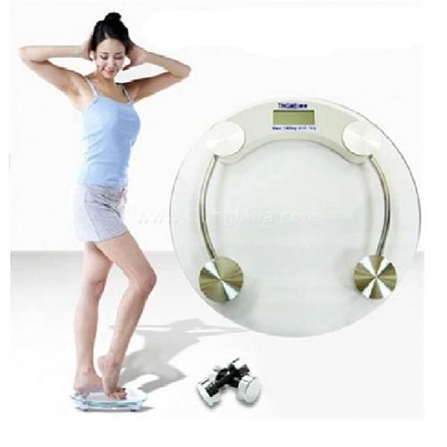 98k - Cân điện tử sức khỏe tròn lớn max 180kg giá sỉ và lẻ rẻ nhất